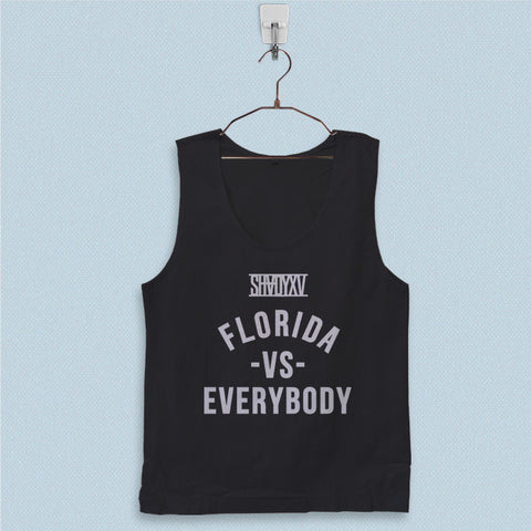 Men's Basic Tank Top - Eminem Shady Florida vs Everybody