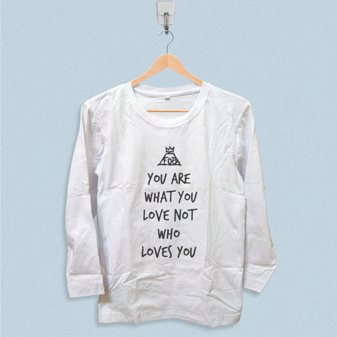 Long Sleeve T-shirt - Fall Out Boy Quote