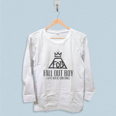 Long Sleeve T-shirt - Fall Out Boy Save Rock and Roll
