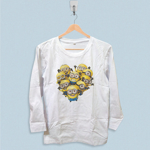 Long Sleeve T-shirt - Funny Minions
