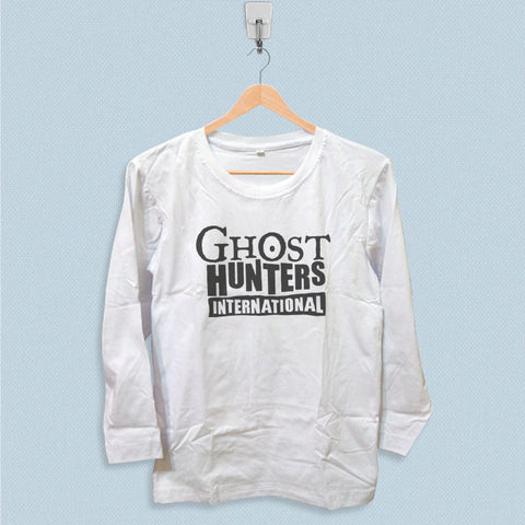 Long Sleeve T-shirt - Ghost Hunters International