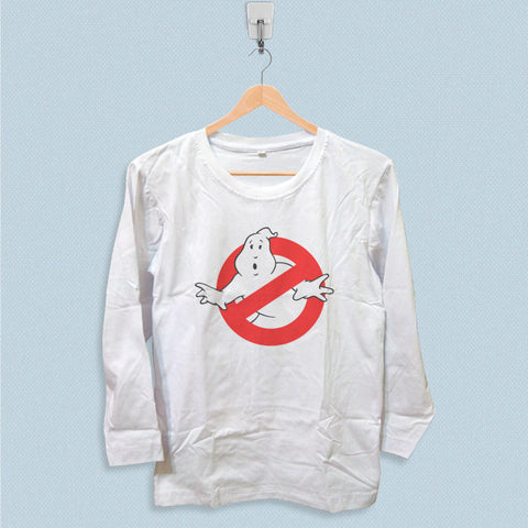 Long Sleeve T-shirt - Ghostbusters Logo