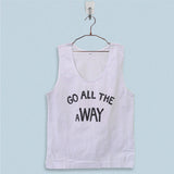 Men's Basic Tank Top - Go All The Away Luke Hemmings 5SOS