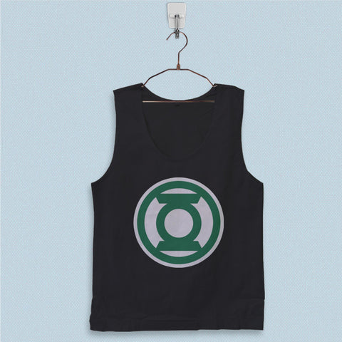 Men's Basic Tank Top - Green Lantern Logo