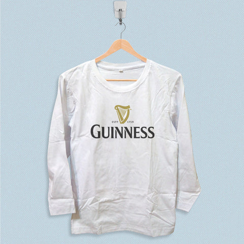 Long Sleeve T-shirt - Guinness Logo