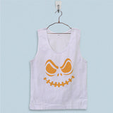 Men's Basic Tank Top - Halloween Pumpkin Face