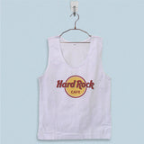 Men's Basic Tank Top - Hard Rock Cafe Logo