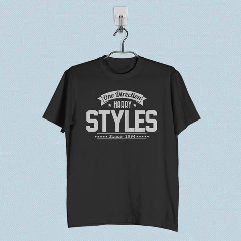 Men T-Shirt - Harry Styles One Direction 1D