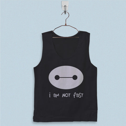 Men's Basic Tank Top - I Am Not Fast Baymax