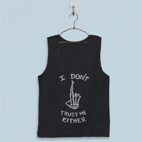 Men's Basic Tank Top - I Dont Trust Me Either