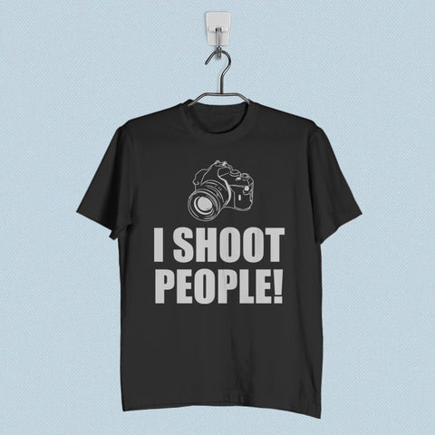 Men T-Shirt - I Shoot People