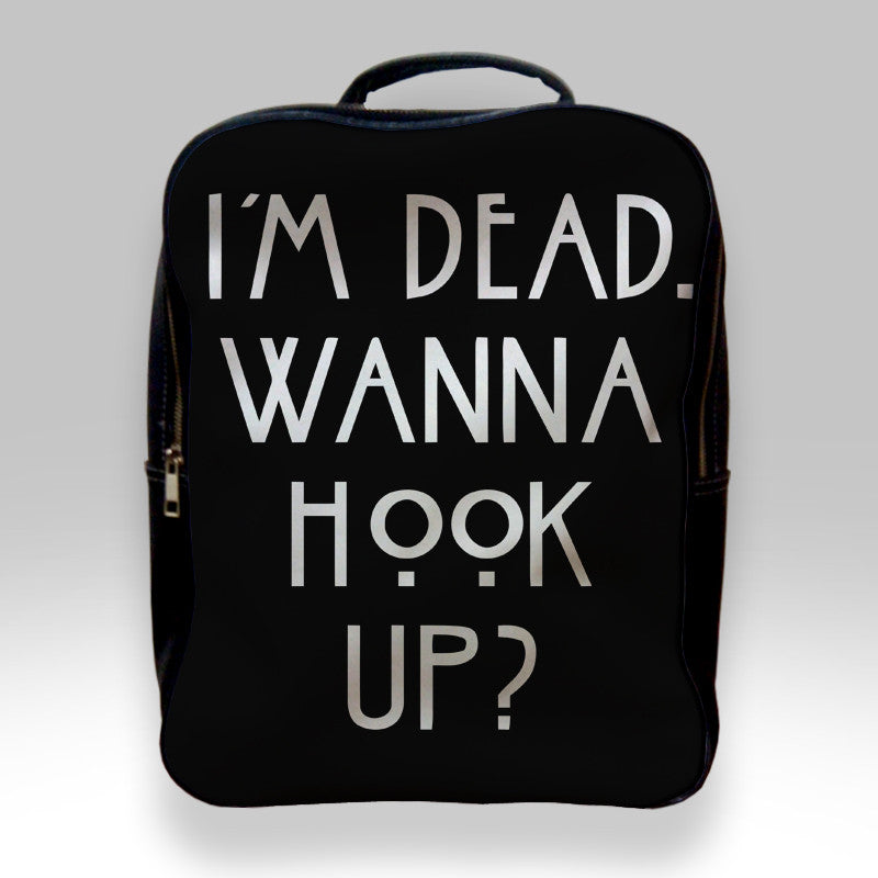 c0a3a155eb27 Backpack for Student - Im Dead Wanna Hook Up American Horror Story Bags