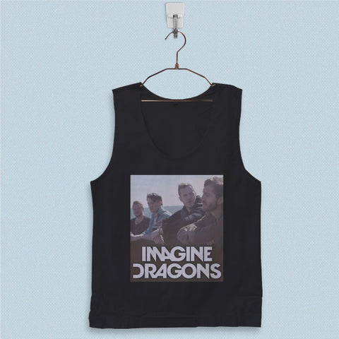Men's Basic Tank Top - Imagine Dragons