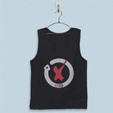Men's Basic Tank Top - Jorge Lorenzo Logo