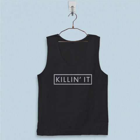 Men's Basic Tank Top - Killin it