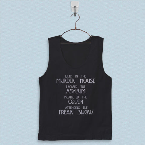 Men's Basic Tank Top - Lived in The Murder House