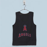 Men's Basic Tank Top - Los Angeles Angels