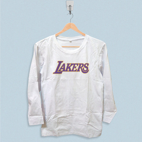 Long Sleeve T-shirt - Los Angeles Lakers