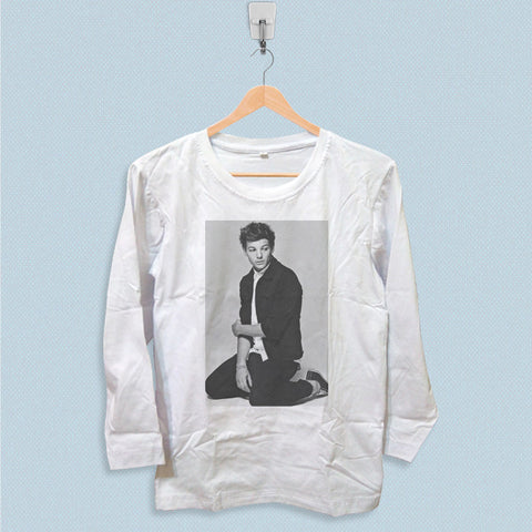 Long Sleeve T-shirt - Louis Tomlinson One Direction Style