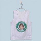 Men's Basic Tank Top - Luke Hemmings Starbuck Coffee Logo