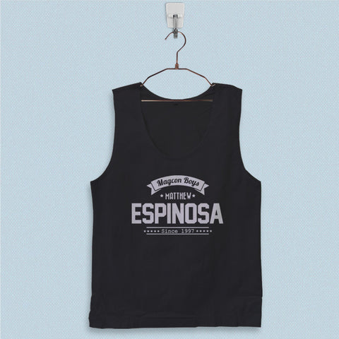 Men's Basic Tank Top - Matthew Espinosa Magcon Boys