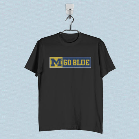 Men T-Shirt - Michigan Go Blue