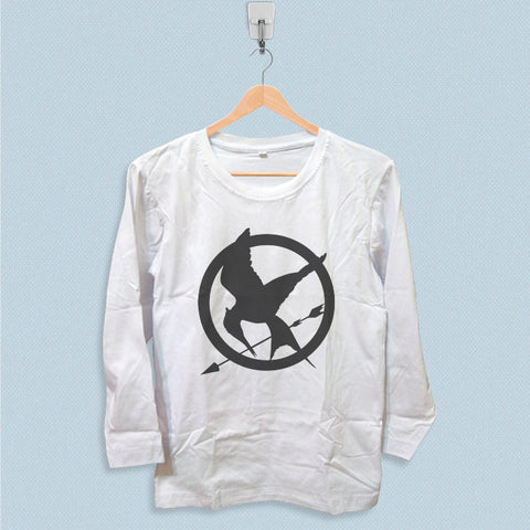 Long Sleeve T-shirt - Mockingjay Symbol