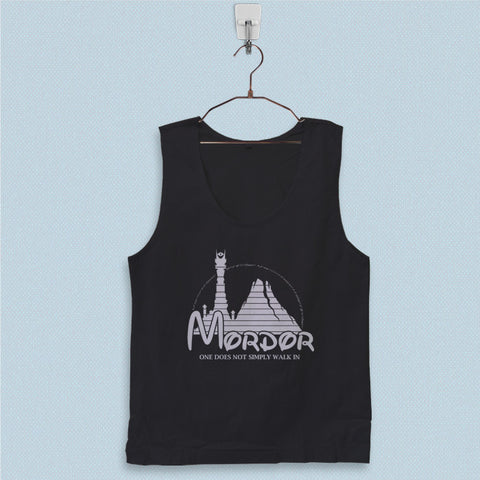 Men's Basic Tank Top - Mordor Hobbit Parody Logo