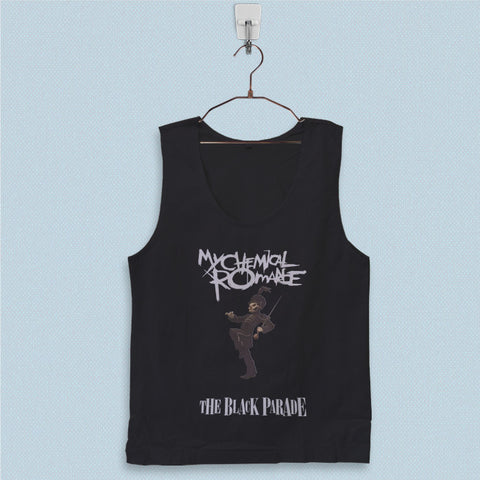 Men's Basic Tank Top - My Chemical Romance The Black Parade
