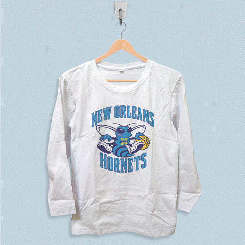 Long Sleeve T-shirt - New Orleans Hornets