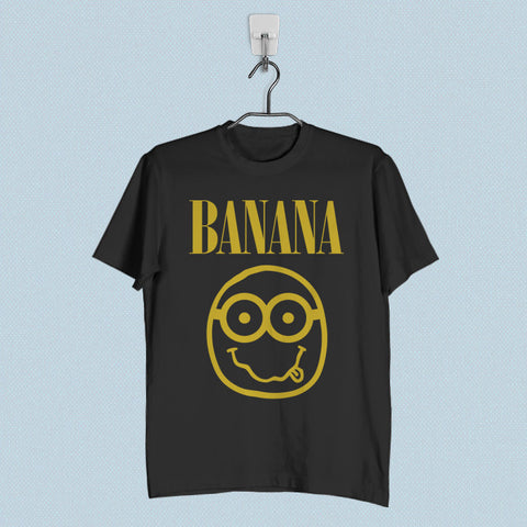 Men T-Shirt - Nirvana Banana