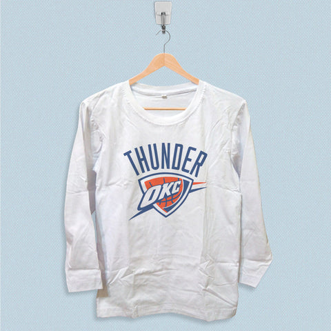 Long Sleeve T-shirt - Oklahoma City Thunder Logo