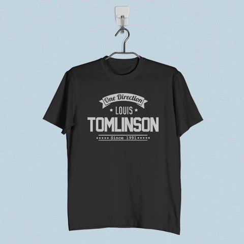 Men T-Shirt - One Direction Louis Tomlinson