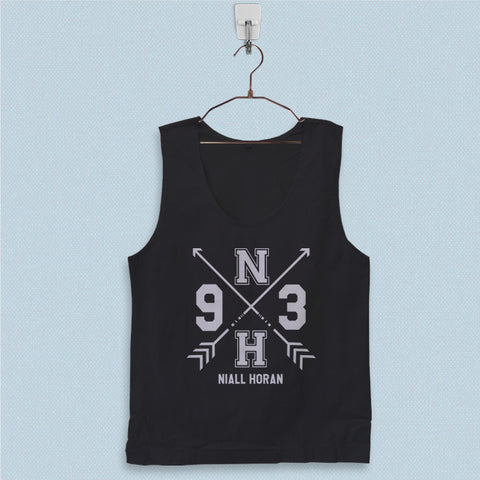 Men's Basic Tank Top - One Direction Niall Horan 1D