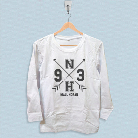 Long Sleeve T-shirt - One Direction Niall Horan 1D