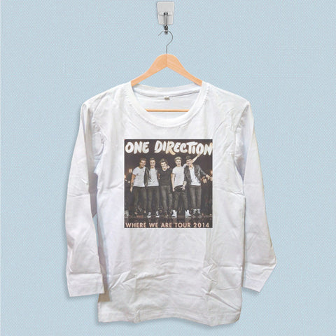 Long Sleeve T-shirt - One Direction Where We Tour 2014