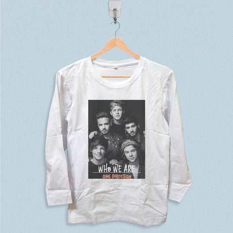 Long Sleeve T-shirt - One Direction Who We Are