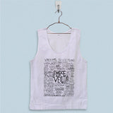 Men's Basic Tank Top - Pierce The Veil Quote