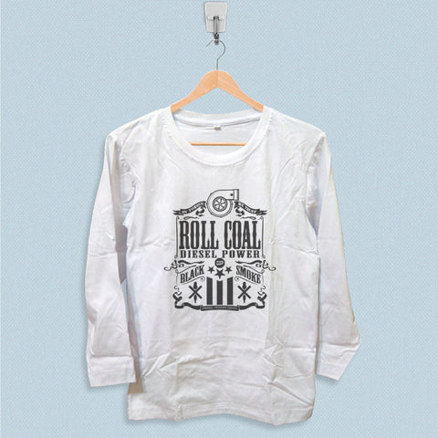 Long Sleeve T-shirt - Roll Coal Diesel Power