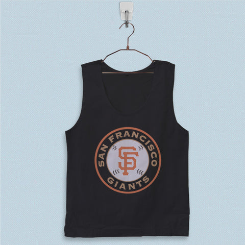 Men's Basic Tank Top - San Francisco Giants Logo