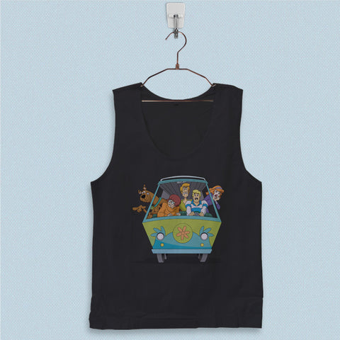 Men's Basic Tank Top - Scooby Doo Mistery Machine