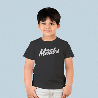 ADULT SIZES  TOP TEE SHAWN MENDES SINGER MENDES 98 BLACK T SHIRT CHILD