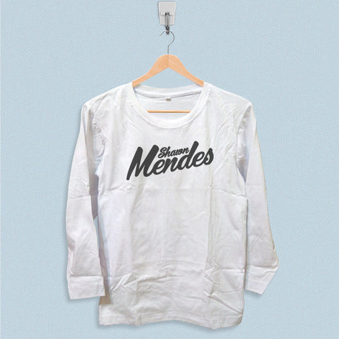 Long Sleeve T-shirt - Shawn Mendes