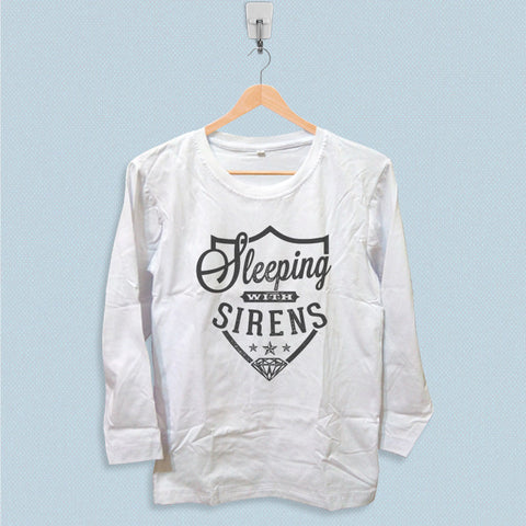 Long Sleeve T-shirt - Sleeping with Sirens Logo