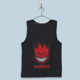 Men's Basic Tank Top - Spitfire Logo