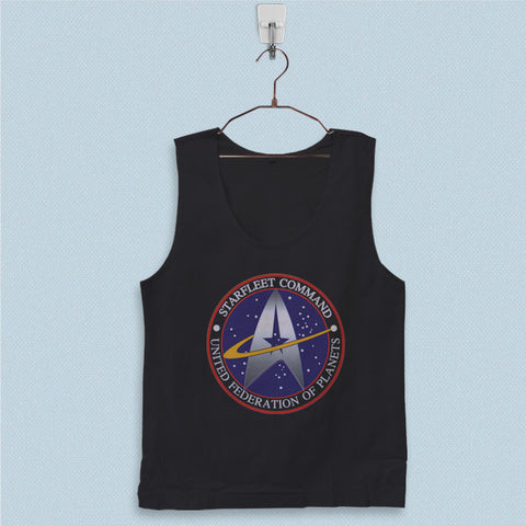 Men's Basic Tank Top - Star Trek Star Fleet Logo