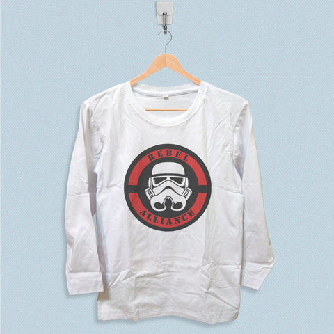 Long Sleeve T-shirt - Star Wars Rebel Alliance Logo