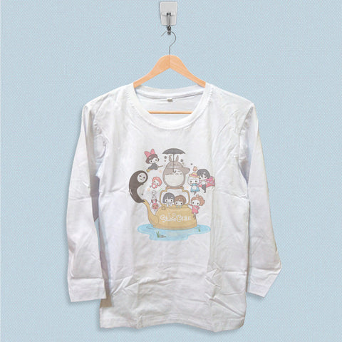Long Sleeve T-shirt - Studio Ghibli Poster