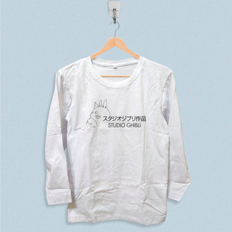 Long Sleeve T-shirt - Studio Ghibli