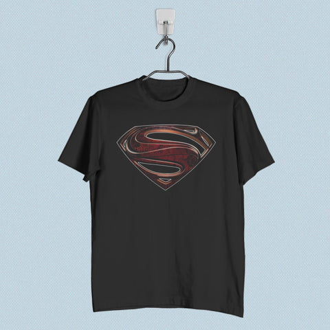 Men T-Shirt - Superman Man of Steel Logo